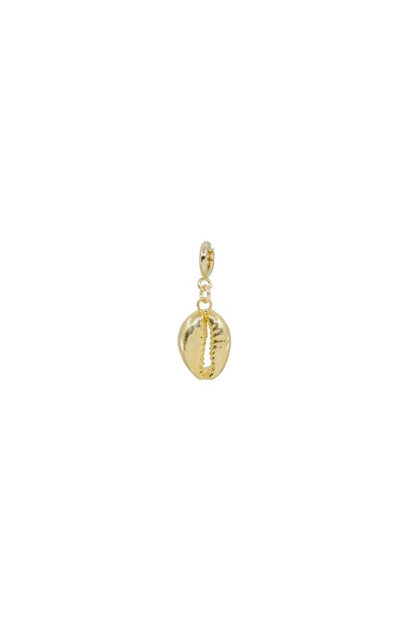 PEA - Gold Cowrie Shell Charm