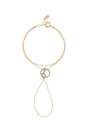 BAZAAR - PEACE IN OUR HANDS - Hand Chain