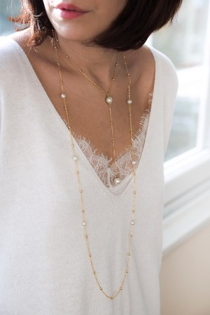 COMFORT ZONE - PEARLS - Set of Necklaces (1)