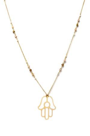 COMFORT ZONE - PEARLY FATIMA - Chain Necklace