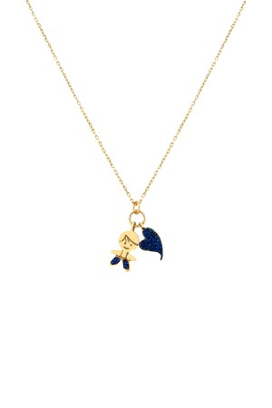 PETITE FAMILY - PEPE BIG HEART - Charm Necklace