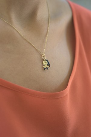 PETITE FAMILY - PEPE BIG HEART - Charm Necklace (1)