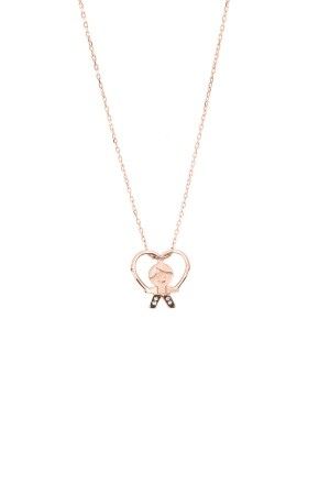 PETITE FAMILY - PEPE IN LOVE - Boy Heart Necklace (1)