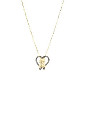 PETITE FAMILY - PEPE IN THE SKY WITH DIAMONDS - Diamond Baby Boy Necklace