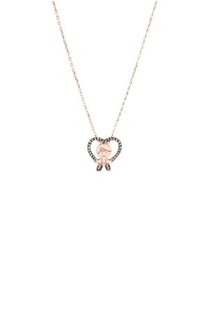 PETITE FAMILY - PEPE IN THE SKY WITH DIAMONDS - Diamond Baby Boy Necklace (1)