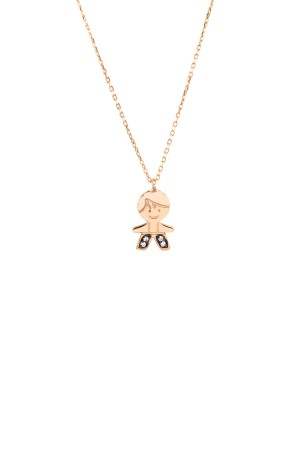 PETITE FAMILY - PEPE PRINCE - Boy Pendant Necklace with CZ (1)