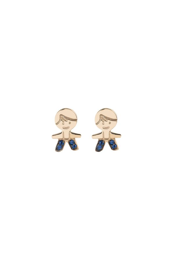 PEPE THE BLUE - Minimal Stud Earrings
