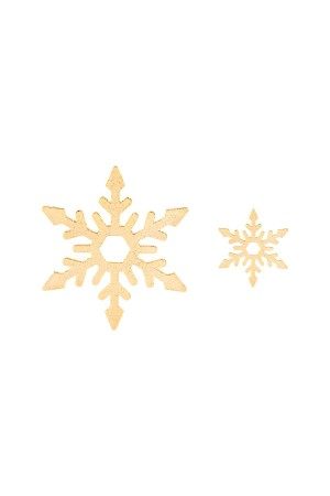BAZAAR - PERFECT SNOW - Asymmetrical Earrings