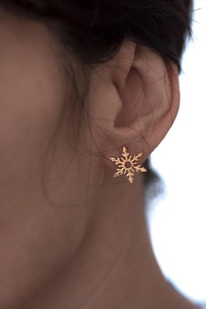 BAZAAR - PERFECT SNOW - Asymmetrical Earrings (1)