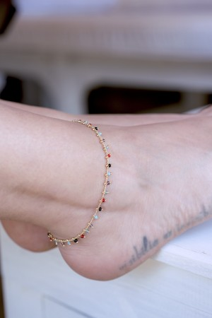 PLAYGROUND - PHI PHI - Beaded Anklet