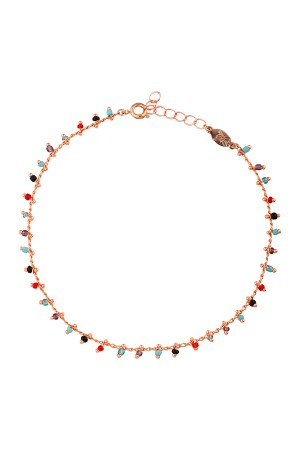 PLAYGROUND - PHI PHI - Multicolor Beaded Anklet