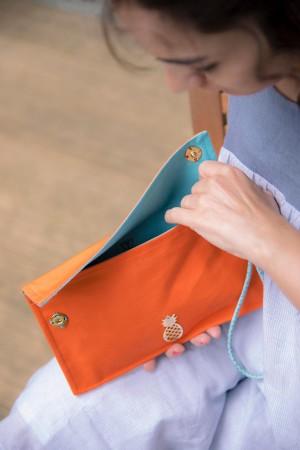 HAPPY SEASONS - PINAAPLE - Clutch Bag (1)