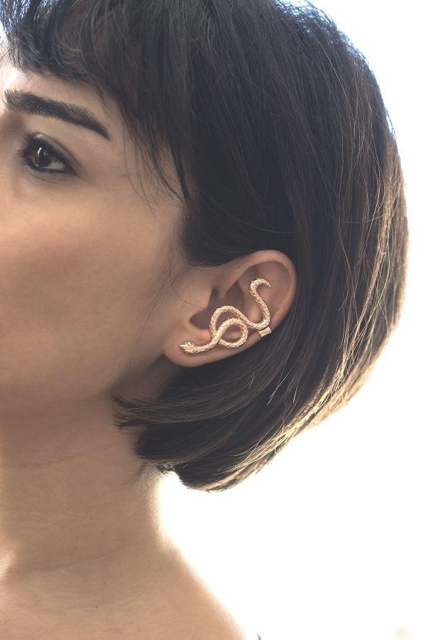 PINK MEDUSA - Kulak Takısı