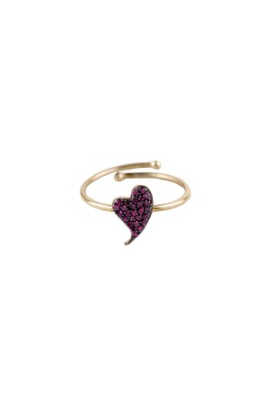 PETITE FAMILY - PINKY BEAT - Pink Sapphire Ring