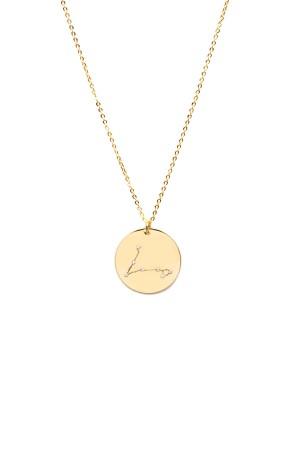 PETITE JEWELRY - PISCES - Constellation Pendant Necklace