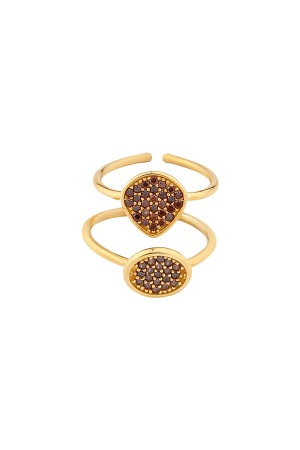 SHOW TIME - POMMEGRENADE - Stackable Rings (1)