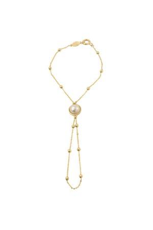 SHOW TIME - PRINCESS - Pearl Hand Chain