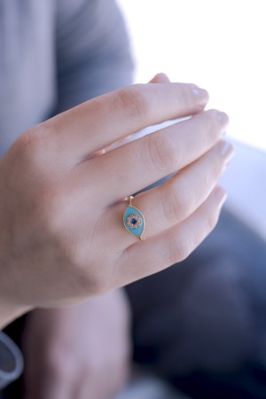 COMFORT ZONE - PUPIL - Evil Eye Ring (1)