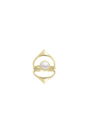 SHOW TIME - PURE - Pearl Ring