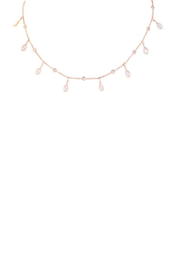 QUEEN - Dainty CZ Necklace