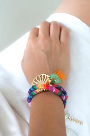 PLAYGROUND - RAINBOW - Multicolor Wrap Bracelet (1)