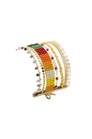 PLAYGROUND - RAINBOW - Multilayered Bracelet