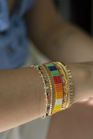 PLAYGROUND - RAINBOW - Multilayered Bracelet (1)