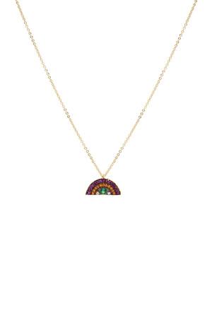 PLAYGROUND - RAINBOW - Pendant Necklace
