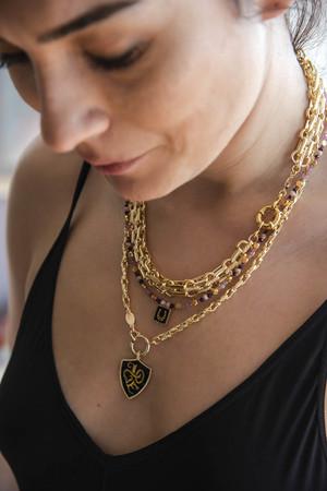 RAVELLO - Chunky Chain Necklace - Thumbnail