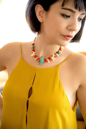 SHOW TIME - RAW - Natural Stone Necklace (1)