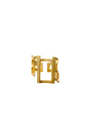 COMFORT ZONE - RECTANGULAR - Altın Kaplama Yüzük