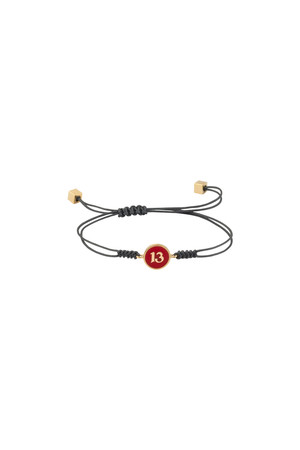 PLAYGROUND - RED 13 - Luck Bracelet