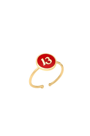 PLAYGROUND - RED 13 - Luck Ring