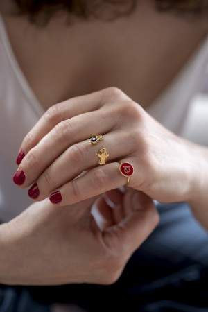 PLAYGROUND - RED 13 - Luck Ring (1)