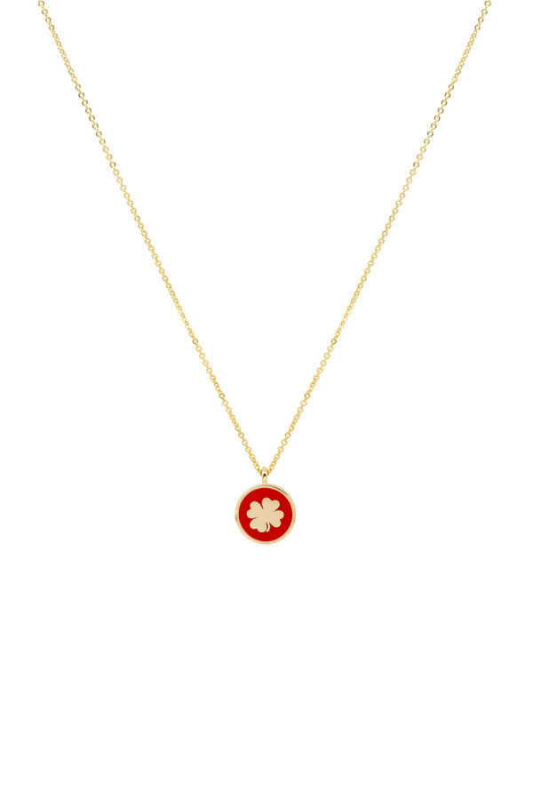 RED CLOVER - Luck Necklace