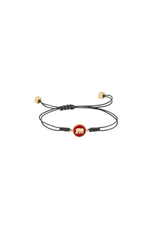 PLAYGROUND - RED ELEPHANT - Luck Bracelet