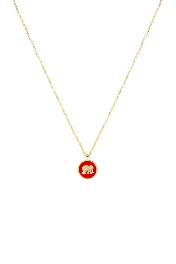 RED ELEPHANT - Luck Necklace