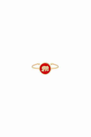 PLAYGROUND - RED ELEPHANT - Luck Ring (1)