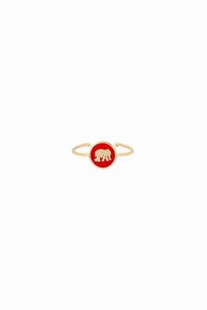 PLAYGROUND - RED ELEPHANT - Şans Yüzüğü (1)