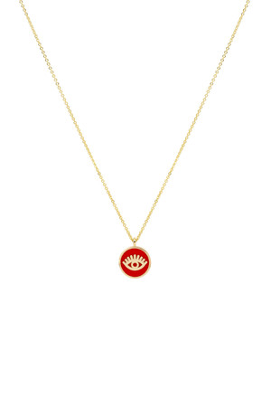 RED EYE - Luck Necklace - Thumbnail