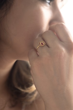 PLAYGROUND - RED HORSESHOE - Şans Yüzüğü (1)