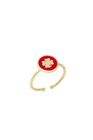 PLAYGROUND - RED SHAMROCK - Şans Yüzüğü