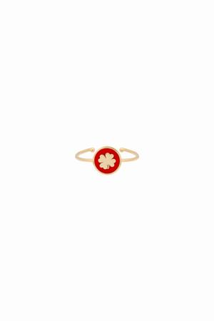 PLAYGROUND - RED SHAMROCK - Şans Yüzüğü (1)
