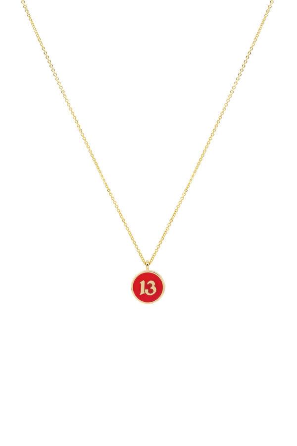 RED THIRTEEN - Pendant Necklace
