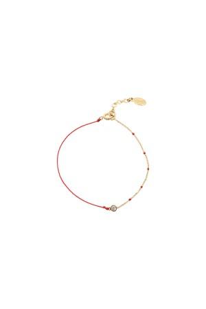 PLAYGROUND - RED DOT - Kabbalah Bracelet