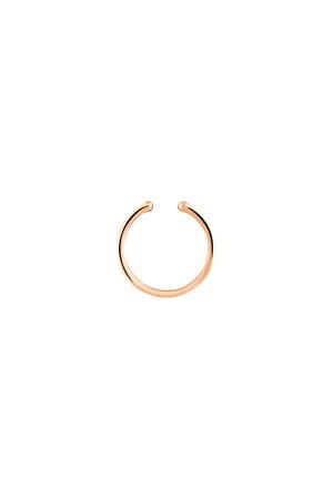 PETITE LUXE - RING - 14K Minimal Earcuff
