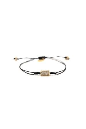 COMFORT ZONE - ROLL ME - CZ Adjustable Bracelet