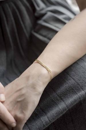 PETITE JEWELRY - ROMA - Roman Numeral Bracelet (1)