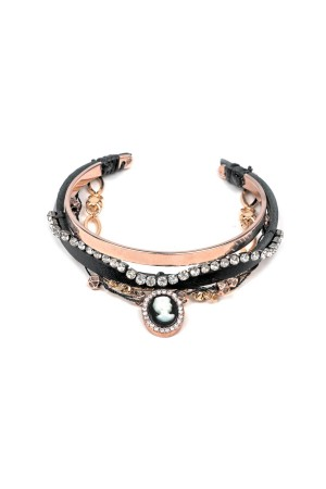SHOW TIME - ROMANTIC CAMEO - All in One Arm Party Bracelet