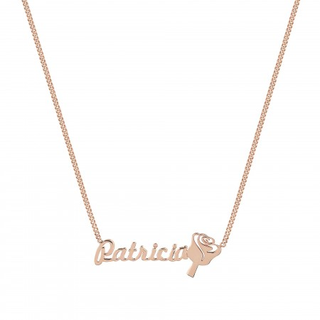 PETITE JEWELRY - ROSE - Personalized Name Necklace